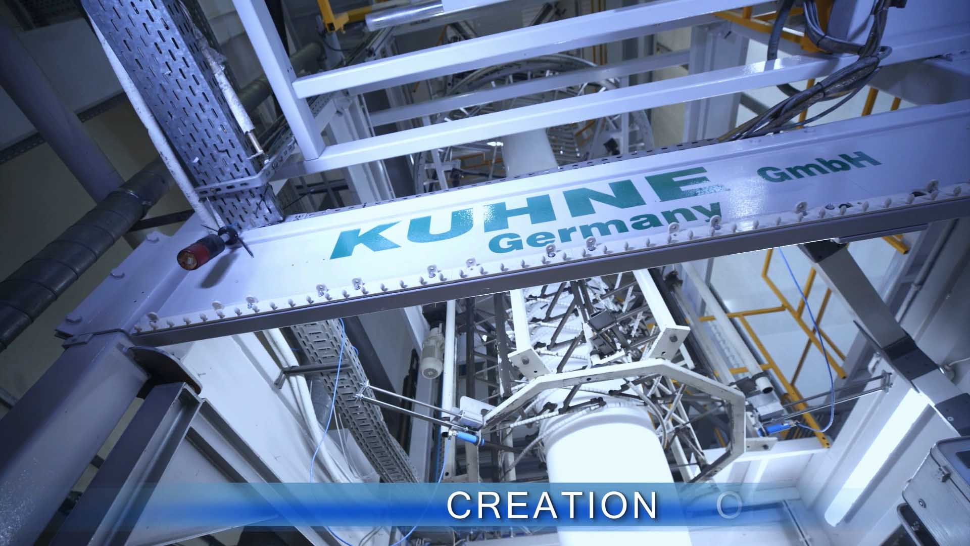 Kuhne Germany extruder