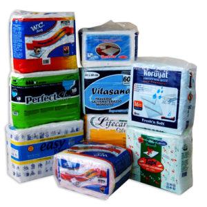 PLASTIC COMPACT  BAG  PRINTED