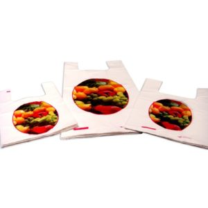 "GENERAL APPLICATION  BAG  PRINTED ""FRUITS & VEGITABLES"""