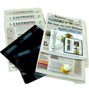 """NEWSPAPAPER'S & MAGAZINE'S""  PRINTED  PACKAGING PLASTIC FOIL"