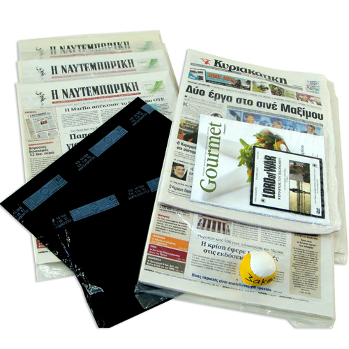 """NEWSPAPAPER'S & MAGAZINE'S""  PRINTED  PACKAGING PLASTIC FOIL"