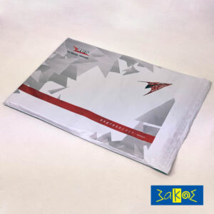 COURIER ENVELOPE  WITH TRANSARENT POUCH  (VOUCHER HOLDER)