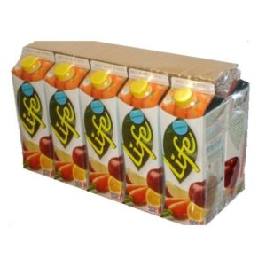 PLASTIC SHRINK FILM  FOR  SOFT DRINKS UNPRINTED